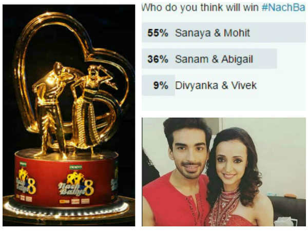 Nach Baliye 8: Sanaya Irani-Mohit Sehgal Declared As Winner By Tweeples!