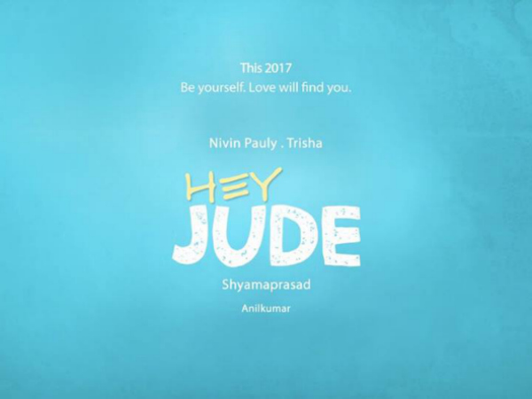 Nivin Pauly's Hey Jude To Go On Floors Soon
