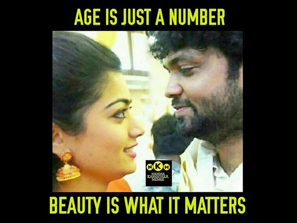 rakshit shetty and rashmika mandanna age gap