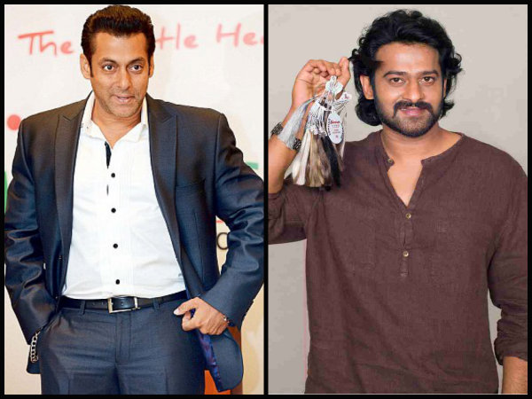 OMG! Salman Khan TAKES A DIG At Prabhas' Fans; Says My Fans Also Watch Shahrukh & Aamir Khan's Films