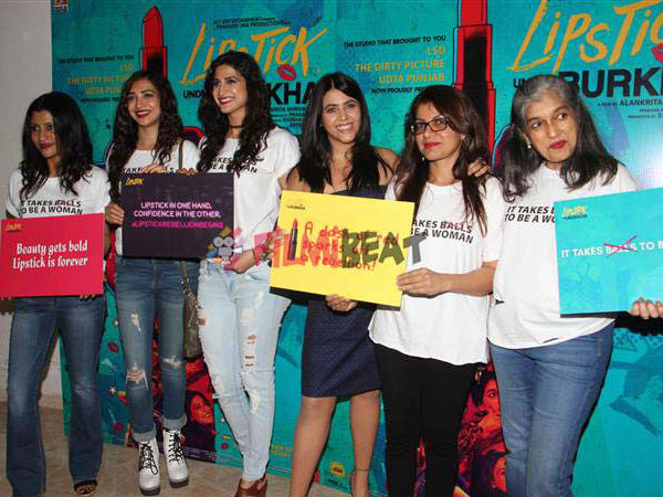 No Issues With CBFC, Problem Is With Society: Ekta Kapoor At Lipstick Under My Burkha Trailer Launch