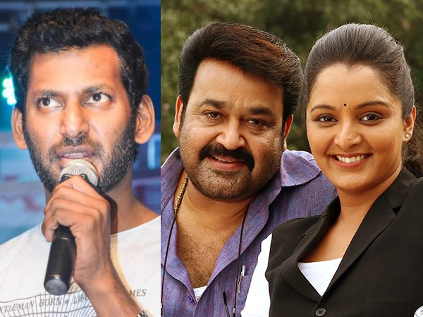 Vishal Is All Praises For Mohanlal & Manju Warrier!