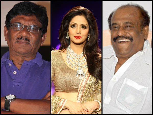 When Bharathiraja & Sridevi Spoke About Rajinikanth's Remuneration!