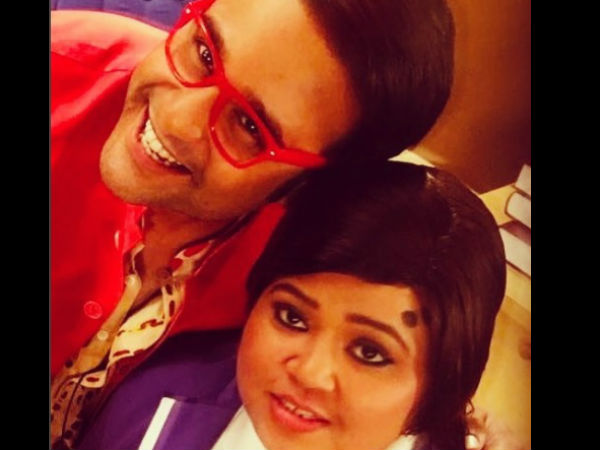 Krushna Wishes Bharti