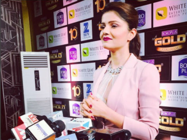 Rubina Bags Most Fit Actor Award