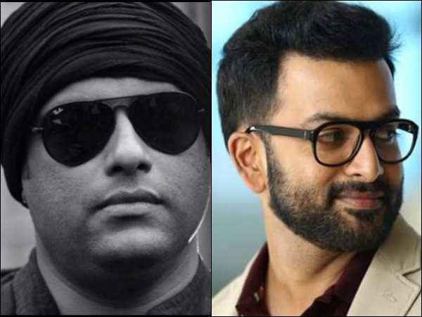 Murali Gopy-Prithviraj Team For The First Time