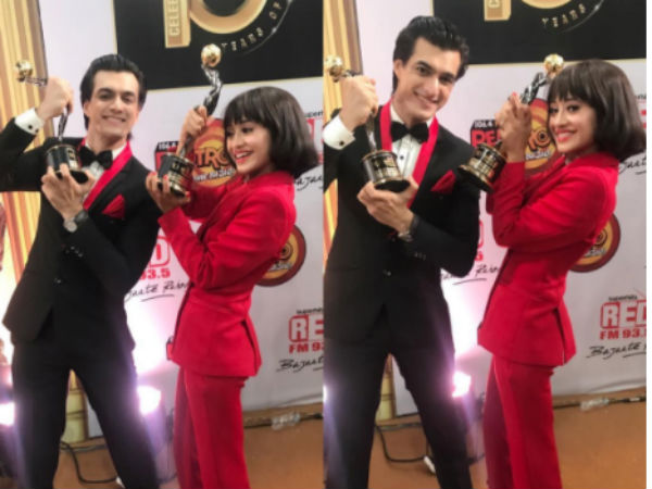 Shivangi Joshi & Mohsin Khan - Gold Debut Of The Year