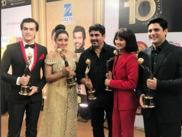 Yeh Rishta Kya Kehlta Hai Bags 5 Awards!