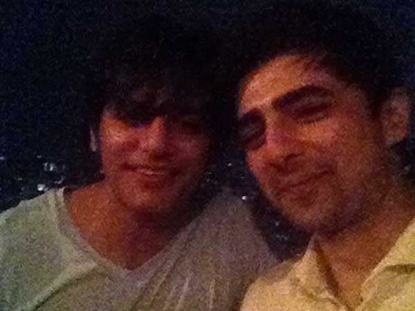 Shehzad With Karanvir