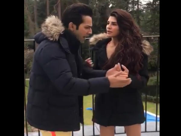 Varun And Jacqueline Set The Temperatures Soaring High