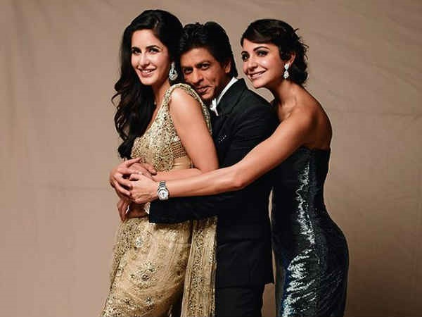 Anushka And Katrina Only Have Scenes With Shahrukh Khan