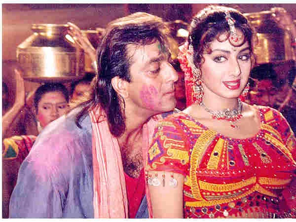 Sridevi And Sanjay Had Shared Screen Space Together 25 Years Ago