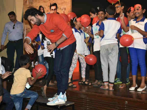 Ranbir's Meet-And-Greet Session