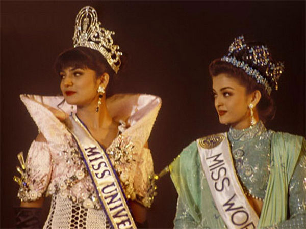 Image result for aishwarya and sushmita 1994