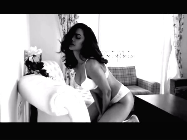 Esha Gupta goes semi-nude for this photoshoot, video viral