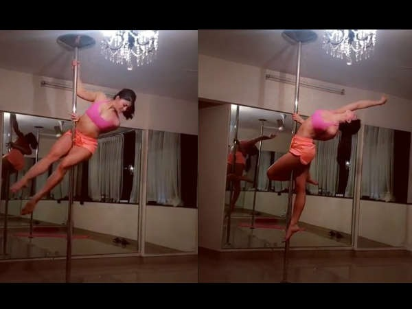 Jacqueline Fernandez's sexy pole dance will surely make your day