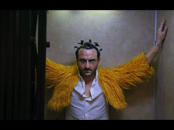Saif Ali Khan in the dark comedy Kaalakaandi's teaser
