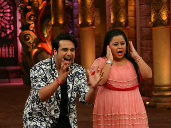 Krushna & Bharti Had Vowed Not To Appear on Kapil's Show