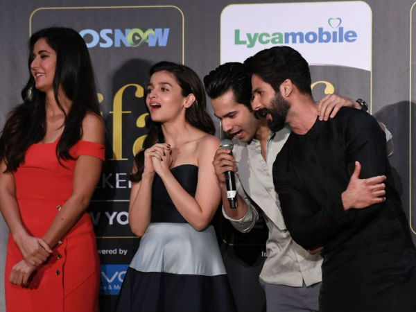 Shahid Drags Varun, While Answering A Question