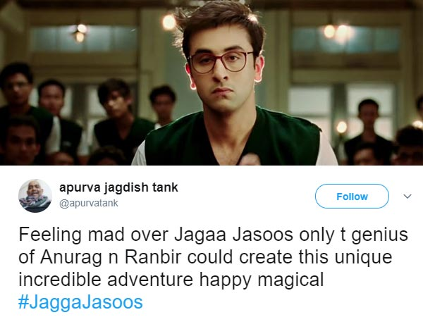Ranbir Kapoor And Katrina Kaif's Jagga Jasoos First Tuesday Business!