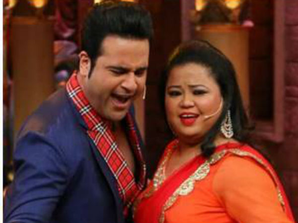 Bharti Singh Says No Animosity Between Her & Krushna Abhishek; Feels  Blessed TO Work With Kapil - Filmibeat