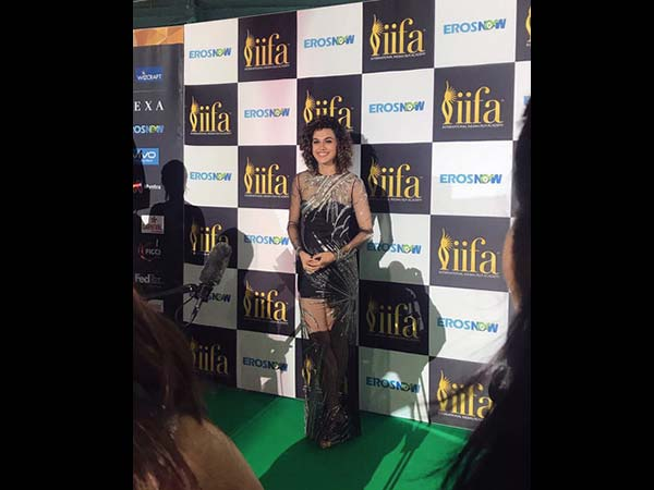 Taapsee Posing For The Shutterbugs
