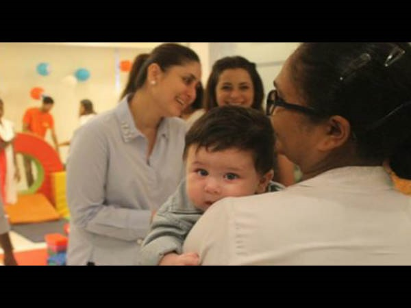Kareena On Making Taimur Eat Ghee