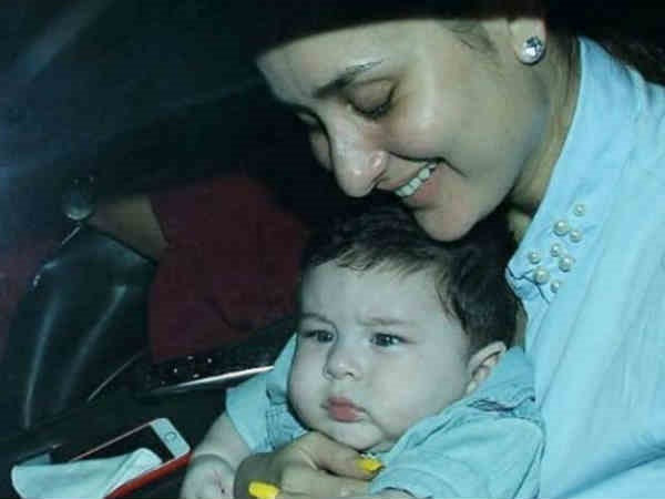 Taimur Is A Hit With The Papparazzi