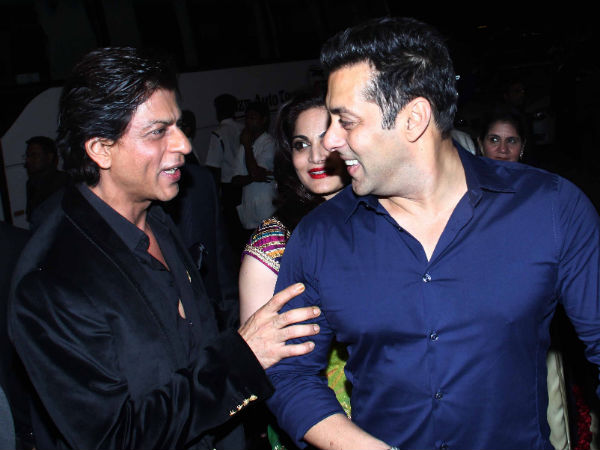 Photo : Shahrukh and Salman