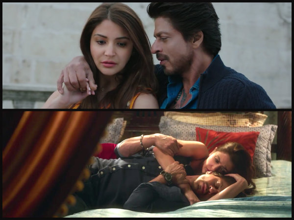 Anushka's Intense Moments With SRK