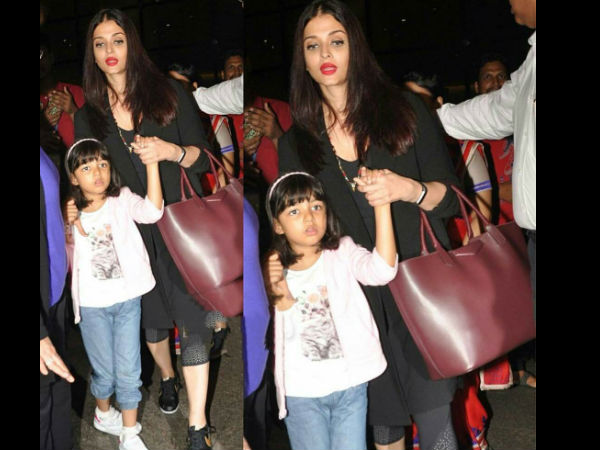 Aishwarya Rai Returns With Aaradhya