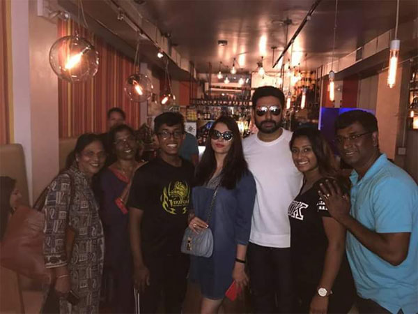 Did You Miss Abhi-Aish's Vacation Pictures