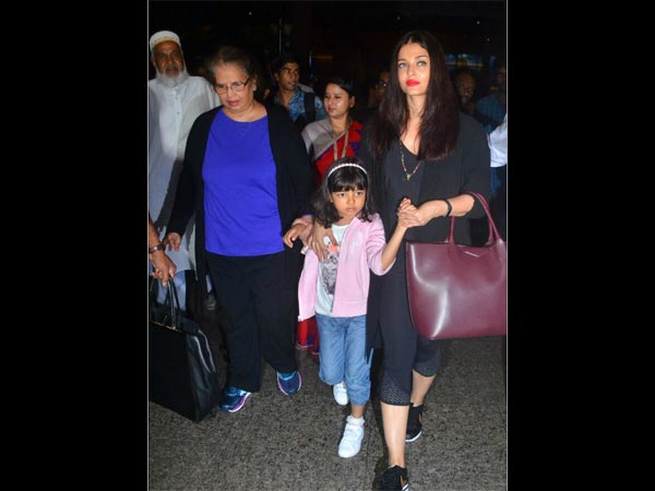Aaradhya Too Got Scared