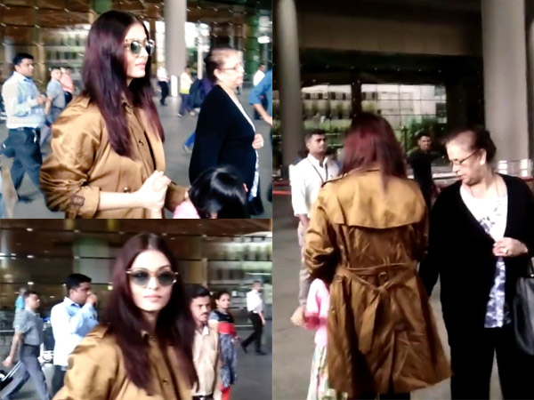 Remember When Aishwarya's Mother Got Hurt At The Airport?