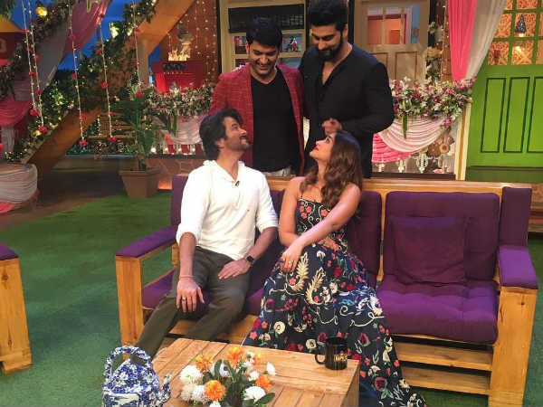 Anil Kapoor Had A Blast On TKSS Set!