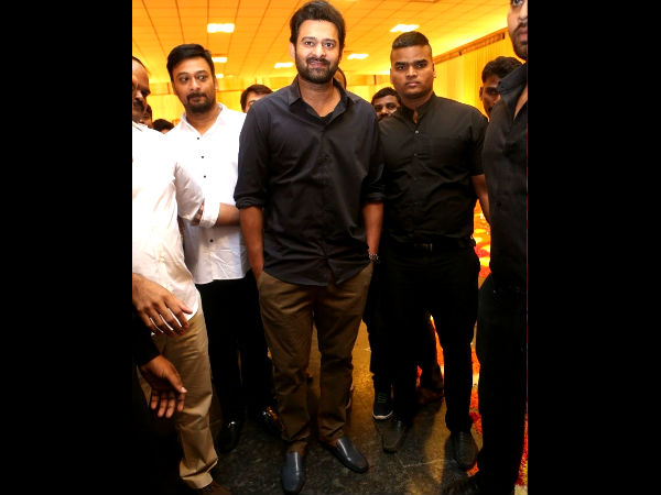 Prabhas Looked Handome