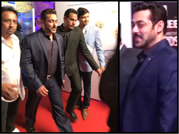 Salman Looked Suave & How!