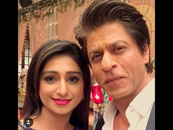 Mohena With SRK