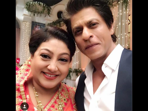 Swati Chitnis With SRK