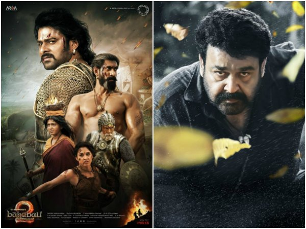 Here's Why Baahubali 2 Failed To Beat Mohanlal Starrer Pulimurugan's Record!