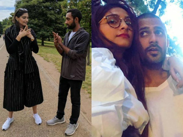 Sonam Kapoor & Her Boyfriend Anand Ahuja Live It Up In New York City! View Pictures