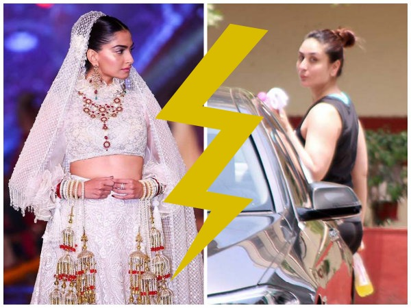 CATFIGHT IN OPEN? Did Sonam Kapoor RANT Against Kareena Kapoor Khan For Calling Papz Outside Gym?