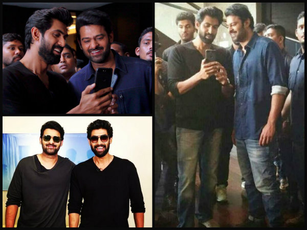 Forget His ROMANCE With Anushka Shetty! Prabhas Spotted BROMANCING Rana Daggubati [New Pictures]
