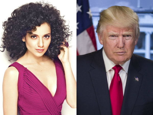 Kangana Ranaut Is The Donald Trump Of Bollywood!