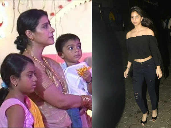PROTECTIVE MOM! Kajol Will Be Angry If Yug Or Nysa Gets Papped Like Suhana Khan For Pictures