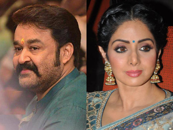 RUMOUR HAS IT! Mohanlal To Team Up With Sridevi?