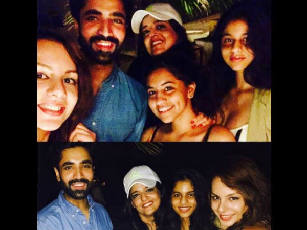 Bigg Boss 10 Contestant Nitibha Kaul Parties With Shahrukh Khan's Daughter Suhana Khan (PICS)