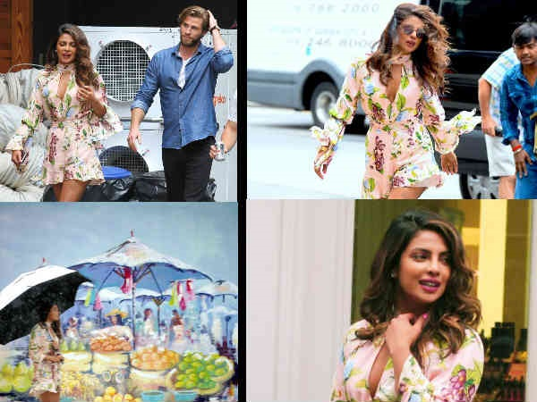 These New Pics Of Priyanka Chopra Shooting With Liam Hemsworth Will Make You Say 'Feelin' HOT'!