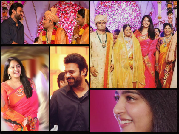 OH MY EYES! Alleged Couple Prabhas & Anushka Shetty Attend A Wedding, Look So Royal [NEW PICTURES]