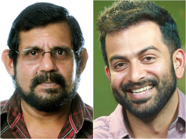 WOW! Prithviraj To Team Up With Viji Thampi For A Big Budget Venture?